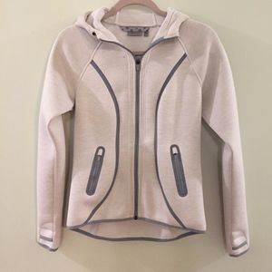 ATHLETA Fuse Jacket- Heather Gray